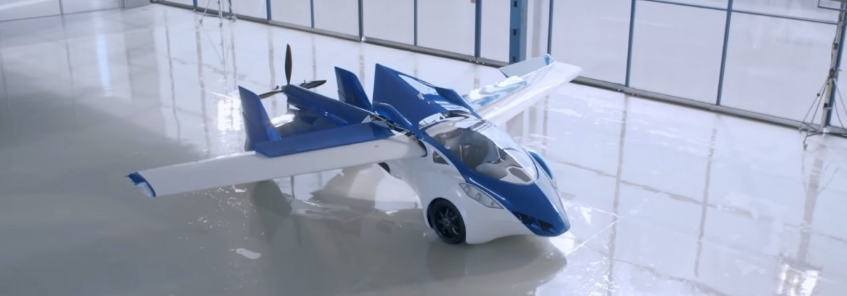 Aeromobil 3.0 - Quelle: youtube/AeroMobil