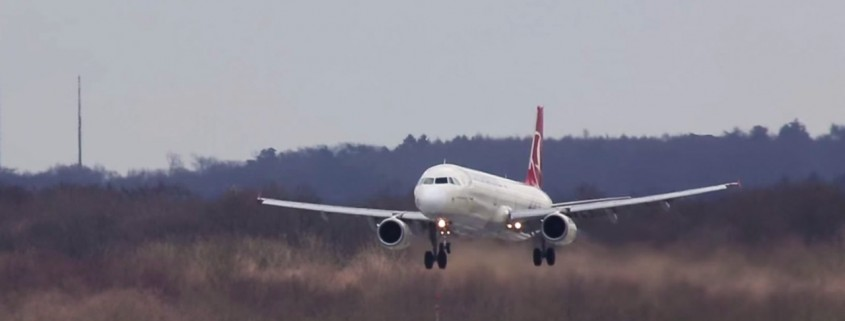Crosswind Landing - Quelle: Youtube/Cargospotter